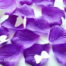 1000 DARK PURPLE SILK ROSE PETALS WEDDING DECORATION FLOWER FAVOR RP014