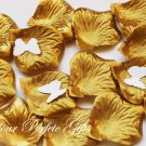 1000 GOLD SILK ROSE PETALS WEDDING DECORATION FLOWER FAVOR RP028
