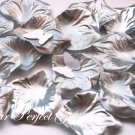 1000 SILVER SILK ROSE PETALS WEDDING DECORATION FLOWER FAVOR RP029