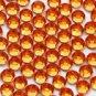 20 Orange Swarovski Rhinestone Jewels 5mm Handmade Crystal Bouquet Centerpiece Stem Jewelry BJ016