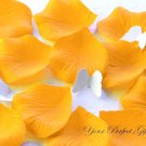 1000 TANGERINE ORANGE SILK ROSE PETALS WEDDING DECORATION FLOWER FAVOR RP023