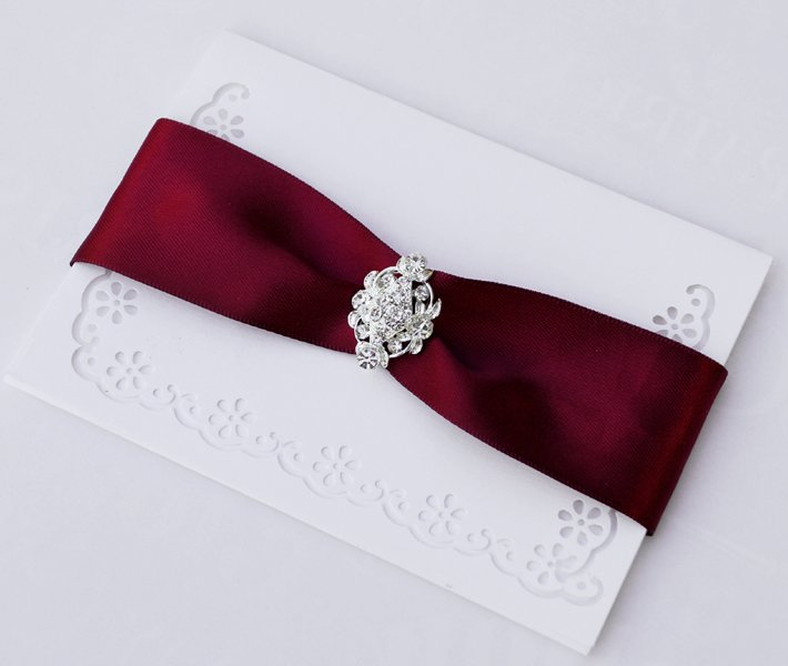 20 Fancy OVAL Silver Diamante Rhinestone Crystal Buckle Slider Wedding Invitation Chair Cover BK061