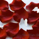 1000 BERRY RED SILK ROSE PETALS WEDDING DECORATION FLOWER FAVOR RP018