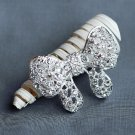 1 pc Rhinestone Brooch Crystal Butterfly Wedding Invitation Cake Bouquet Decoration BR113