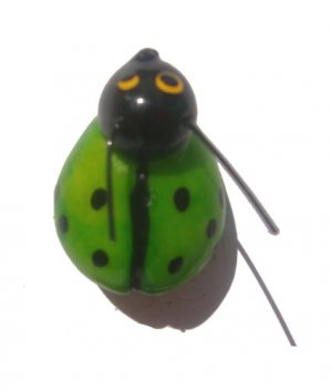 Green Lady Bug-ALL MAGNET ORDERS HAVE A 25 PIECE MINIMUM (ASSORTED OR SAME)