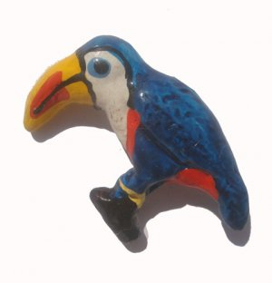 Toucan---ALL MAGNET ORDERS HAVE A 25 PIECE MINIMUM (ASSORTED OR SAME)