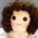 Handmade One of a Kind Cloth Girl Doll OOAK Hand crafted Dolls