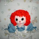 Raggedy Ann Doll with Nursery Rhymes Quilt Handmade one of a kind OOAK Dolls and Quilts