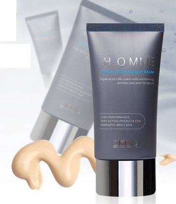 Skin79  BB Cream for men [HOMME TRIPLE ACTION BEBLESH BALM]- 43.5g