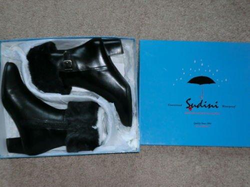 Sudini waterproof black winter boots 8w