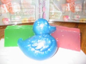 Pink ducky Baby shower soap