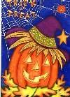 Halloween Pumpkins Large Flag