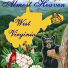 Almost Heaven West Virginia Garden Mini Flag