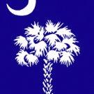 South Carolina Garden Mini Flag