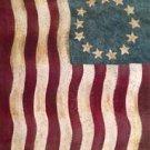 Betsy Ross Colonial Garden Mini Flag