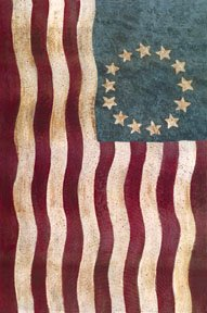 Betsy Ross Colonial Garden Mini Flag