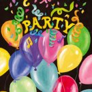Balloon Party Birthday Garden Mini Flag