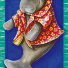 Manatee Summer Garden Mini Summer Flag