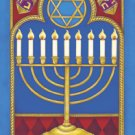 Hannukkah Garden Mini Winter Flag