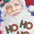 Santa Ho Ho Ho Garden Mini Christmas Flag