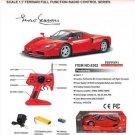 REMOTE CONTROL FERRARI ENZO RED 1/7 SCALE RC00001