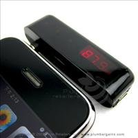New Apple iPhone FM Transmitter Kit w Handsfree for Car