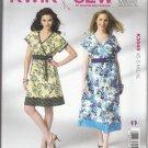 Misses' Pull Over Dresses Pattern XS-XL UNCUT Kwik Sew K3949