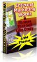 Internet Marketing Words & Phrases that Sell Like Crazy