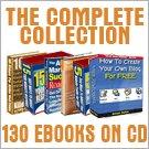 The Complete Range (130 Ebooks) on CD