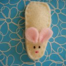 HANDMADE MOUSE SNAP HAIR CLIP