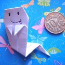 4 X ASSORTED HANDMADE ORIGAMI GHOST