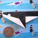 4 X ASSORTED HANDMADE ORIGAMI KILLER WHALE