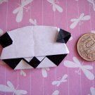 4 X ASSORTED HANDMADE ORIGAMI PANDA
