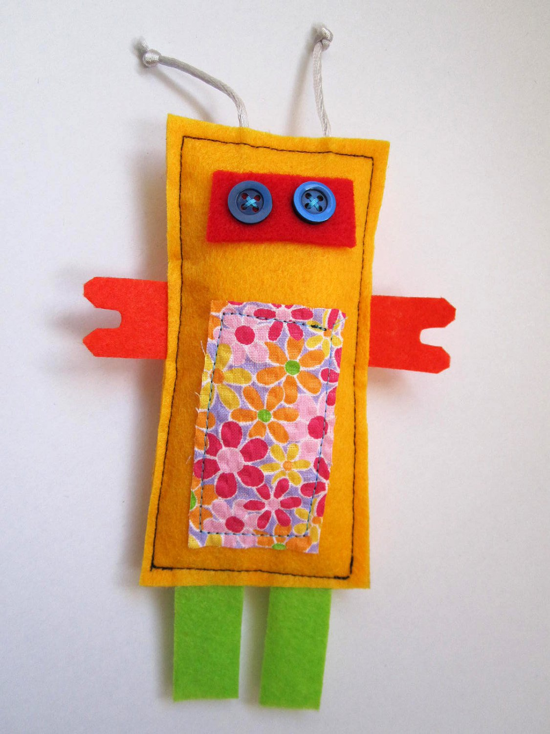 Ynez HANDMADE ROBOTS- UNIQUE ONE OF A KIND