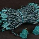 10 Green Mini Lights 100 Light 50 Ft Long