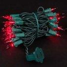 Red 50 Light 11 Ft Long Mini Lights