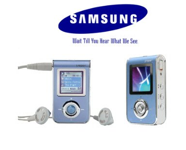 Samsung 512MB MP3 Player w/ Picture Viewer