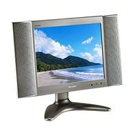 "Sharp Aquos 13"" TFT LCD TV -Black"