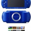 Sony Playstation Portable Blue Metallic Bundle + 41 Games