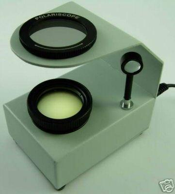 $99.99 NEW! Tabletop Polariscope 4 Gems Gemstones - FREE S&H!