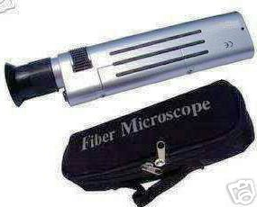 $98.75 NEW! Optical Fiber Inspection Scope 200x, Microscope