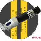 $89.99, 0-80% HD Brix Refractometer Syrup Jam Wine Beer Sauces