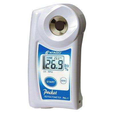 $299.99 Atago PAL-1 Digital 0-53% Brix Wort Sugar Refractometer - GREAT PRICE - FREE S&H!