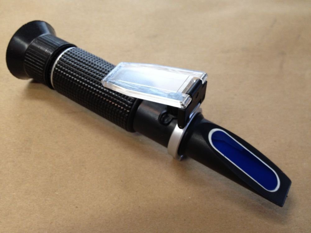 $21.00 RHS-10ATCc Black Salinity Refractometer Dual Scale PPT & SG FREE S&H