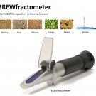 $49.99 THE ORIGINAL BREWfractometer ATC 0-32% Brix & 1.000-1.140 Wort SG Beer Refractometer Free S&H