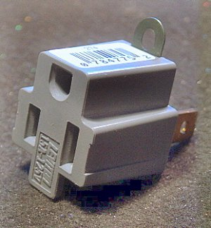 HARDWARE, ELECTRICAL ADAPTOR - ( 2 ) Pieces NEW! a719