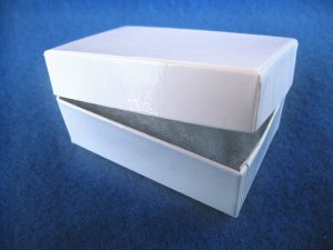 Gift Boxes - Cotton Filled White New 12 pcs CFB003