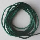 CORD, Satin - Rattail 12' 2mm HUNTER GREEN