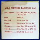 RADIATOR 7 pound Pressure Cap - Wayne WR-6 New Old Stock #1
