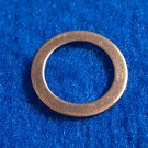 "Copper Washers - 1/2"" ID x 11/16"" OD 12 Pieces       CW1/2"""